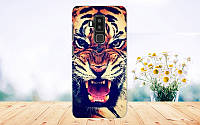 Чехол с рисунком для HomTom S8 Тигр