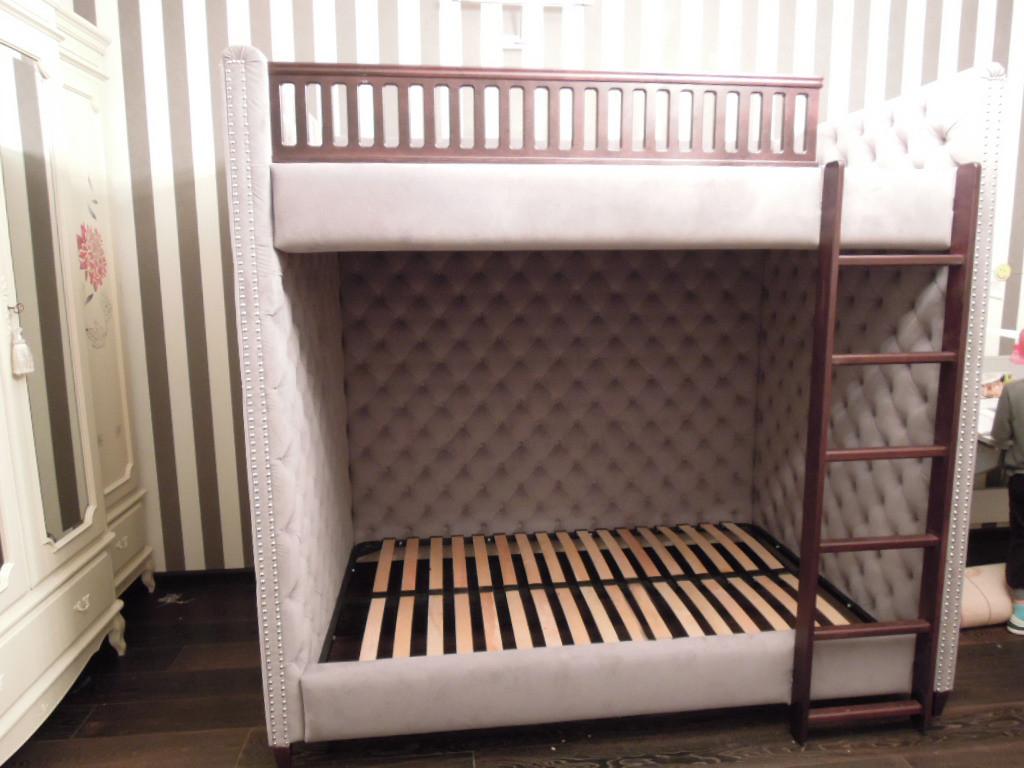 """Детская двухъярусная кровать на 4 и спальных места """"Quatre"""""""