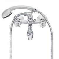 Смеситель для ванной HERZ Val с настенным креплением хром (UH07355), фото 1