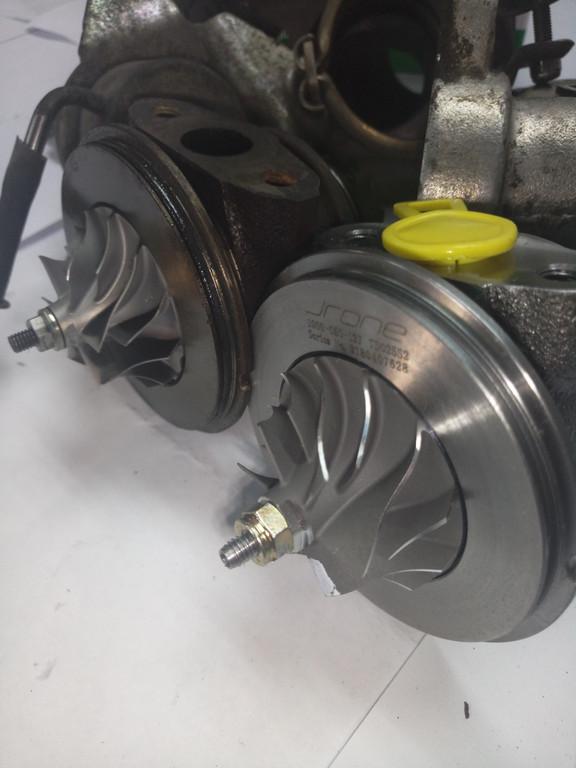 Замена картриджа турбины 49173-07506 CITROEN BERLINGO 1.6 HDI 90 HP