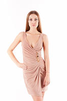 Платье летнее красивое на запах, платье масло ткань розовое, платье нарядное молодежное, фото 1