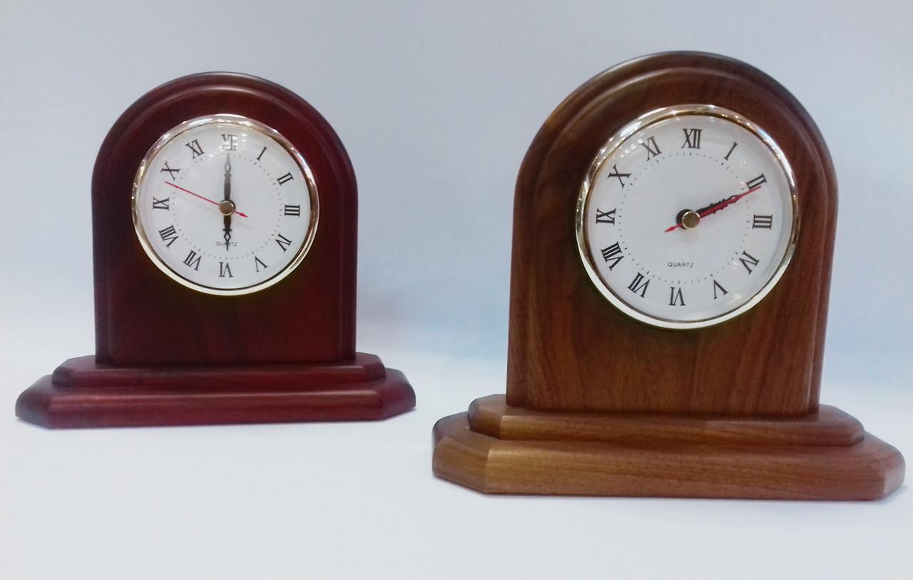 Часы настольные натуральное дерево Bestar 1017