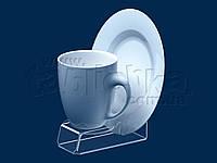 Підставка під чайну пару (чашка + блюдце), акрил 3мм, фото 1