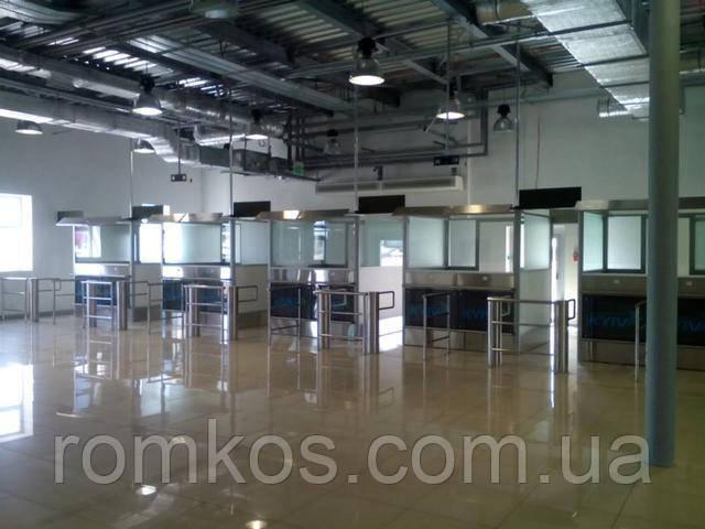 Модернизация терминалов международных воздушных линий.