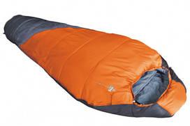 Спальный мешок-кокон Tramp Mersey Правая, Оранжевый/Серый