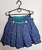 Шорты-юбка  на девочку, размер 116-134 стрекозы