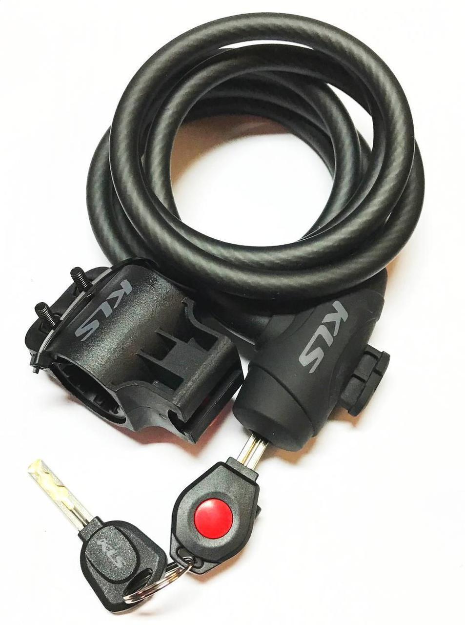 Велозамок KLS COIL KL-051 10х4,5х1200 99000201