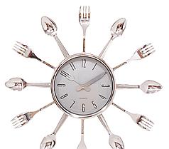 Годинник кухонні ( 320 мм ) вилки-ложки