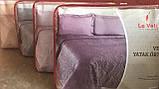 Велюрове покривало євро розміру ТМ Le vele колір L. grey, фото 5