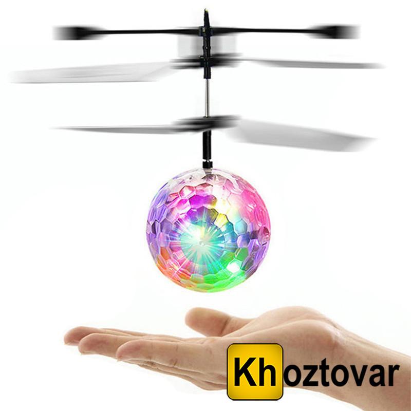 Летающий светящийся мяч Sensor Flying Ball
