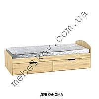 Кровать-односпальная с выдвижными ящиками 90+2 (Компанит)