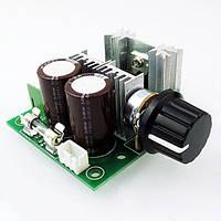 ШИМ регулятор оборотов двигателя постоянного тока PWM DC12-40В 10А