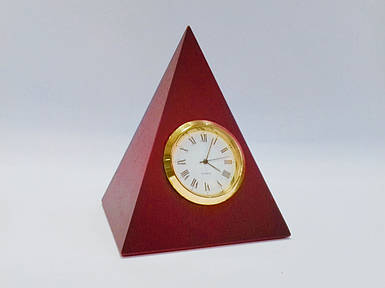 Часы настольные натуральное дерево Bestar 3607