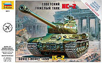 1:72 Сборная модель танка ИС-2, Звезда 5011