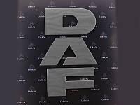 Эмблема DAF  буквы (65мм) под покраску