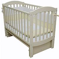 Детская кроватка Верес Соня ЛД 10  маятник (слоновая кость)