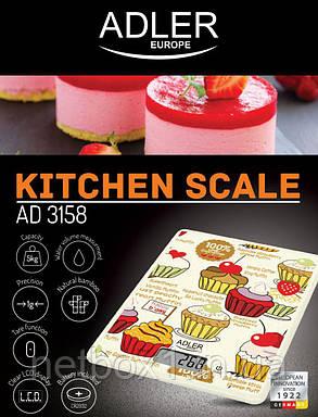 Весы кухонные Adler 3158, фото 2