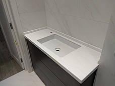 Столешница в ванную из акрила Marble Ocean M707, фото 2