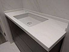 Столешница в ванную из акрила Marble Ocean M707, фото 3