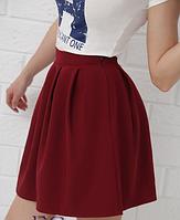 Женская мини юбка - тренд сезона. Размеры норма, разные цвета., фото 1