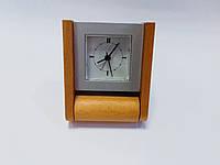 Часы настольные натуральное дерево Bestar 5073