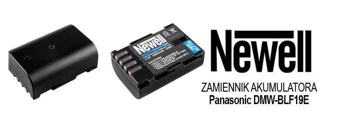 Акумулятор Newell DMW-BLF19E для Panasonic DMC-GH4 DMC-GH3, фото 2