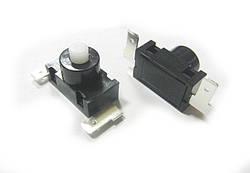 Кнопка нажимная PBS-03А   (2А 250V)  Daier