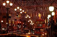 Монтаж декоративного и уличного освещения