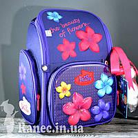 Школьный набор для девочки DeLune (рюкзак+сменка+брелок) 6-117