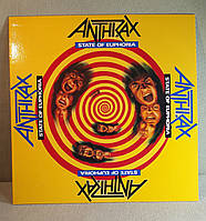 CD диск Anthrax - State of Euphoria
