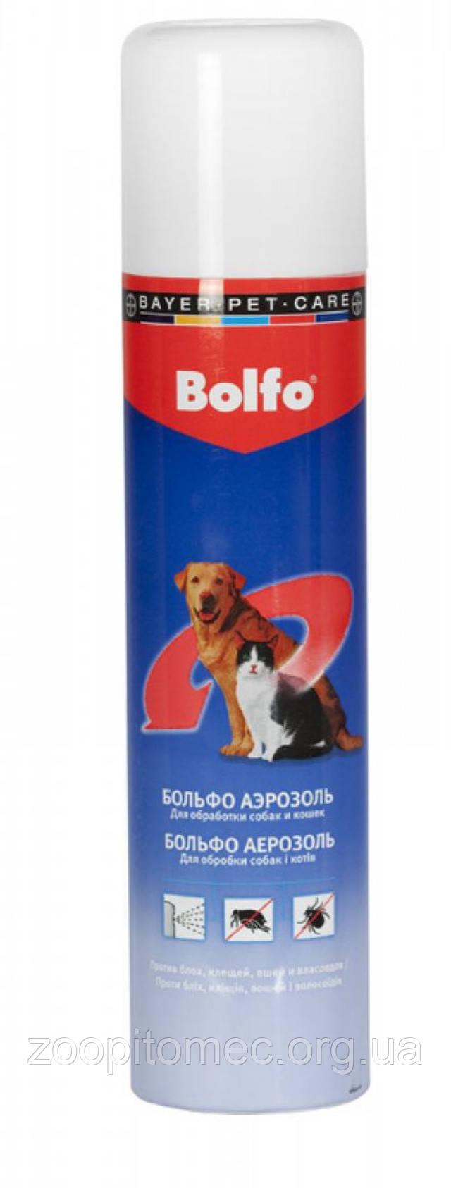 Аерозоль Больфо Bayer для собак