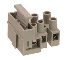TLF-100-3 Клеммник 3 группы контактов на блок с предохр. вставкой