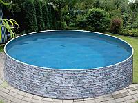 Наземный бассейн AZURO plus Stone