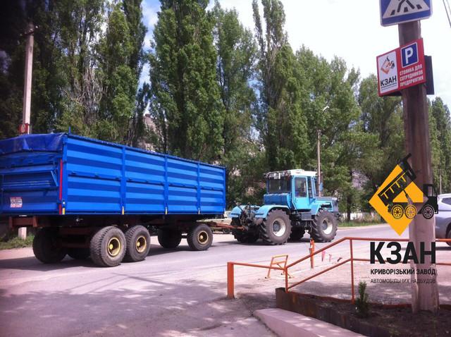 Переоборудование тракторных прицепов 2ПТС, 3ПТС