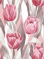 Фотообои тюльпаны паттерн