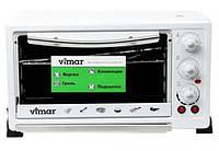 Мини-печь Vimar VEO 6844 White c Шашлычницей, Конвекцией, Вертелом, Грилем. Электродуховка