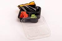 Соусник (контейнер с крышкой) под имбирь, вассаби и соевый соус.