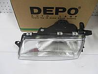 Фара левая механическая DEPO 442-1105L-LD-EM OPEL VECTRA A 88-92