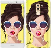 "Чехол на Huawei Mate 9 Lite Девушка с чупа-чупсом ""3979c-474-657"""