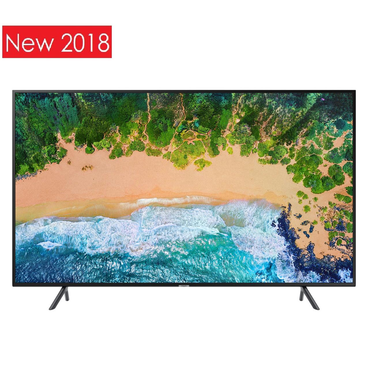 Телевизор Samsung UE49NU7102 (PQI 1300Гц, UltraHD HDR10, Smart, Tizen 4.0, DVB-C/T2)