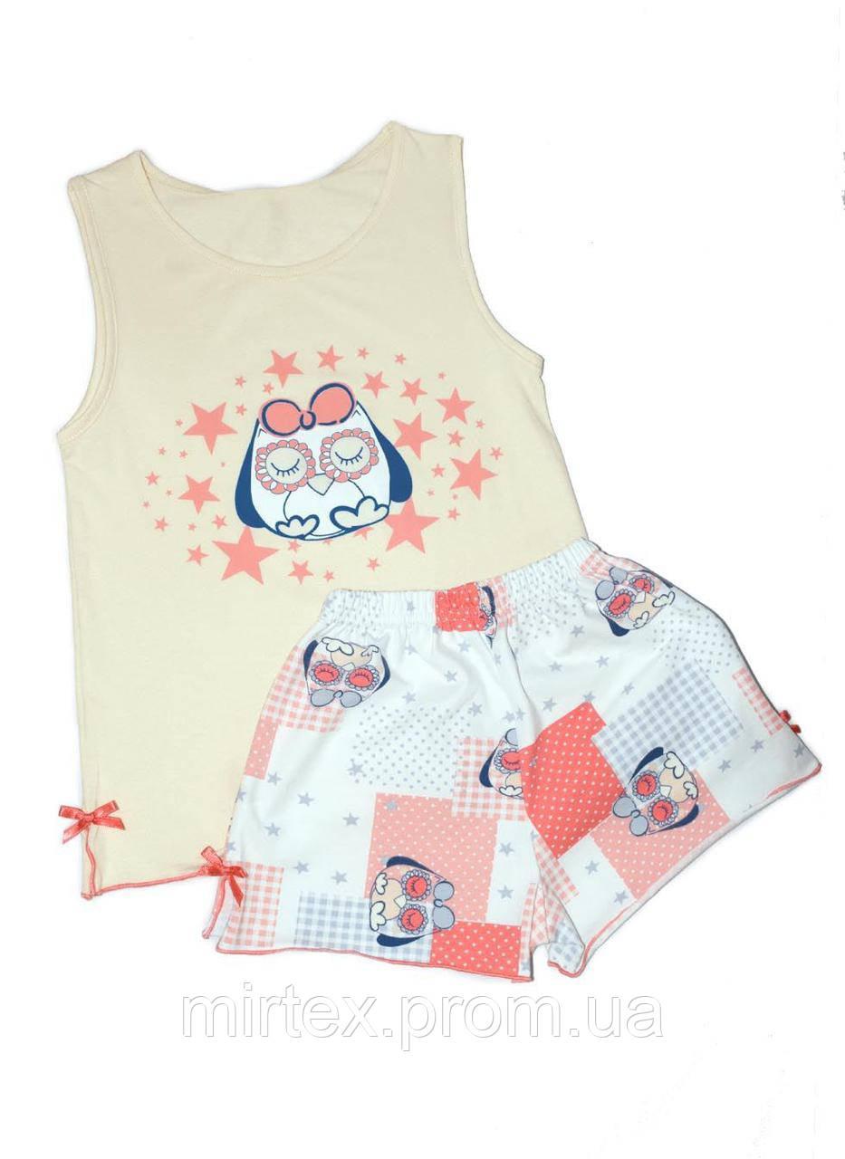"""Пижама для девочки ТМ """"anita-kids"""" арт.0015-55-129-024 р.80 (рост 158)"""