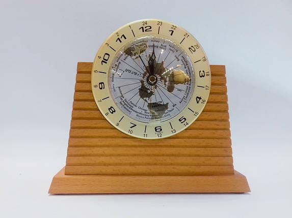 Часы настольные натуральное дерево Bestar 1019, фото 2