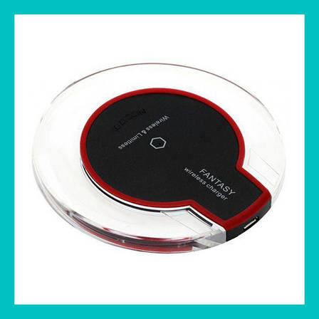 Беспроводная зарядка Wireless Charger Fantasy с адаптером Iphone, фото 2