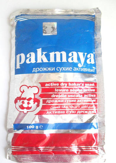 Дрожжи сухие Pakmaya 100г