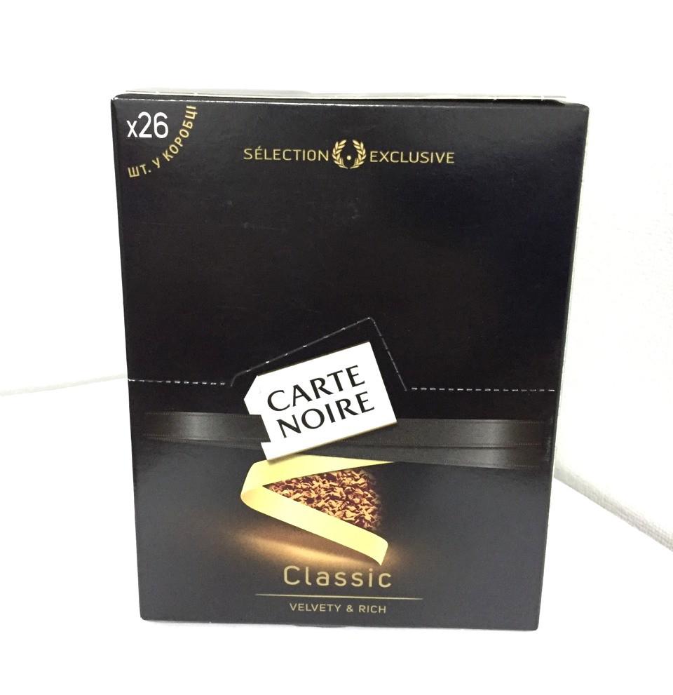 Кофе Carte Noire 26 стиков 52г