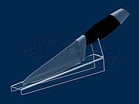 Подставка для демонстрации кухонного ножа, акрил 3 мм , фото 1