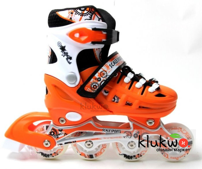 Ролики Scale Sports (38-41) Оранжевые