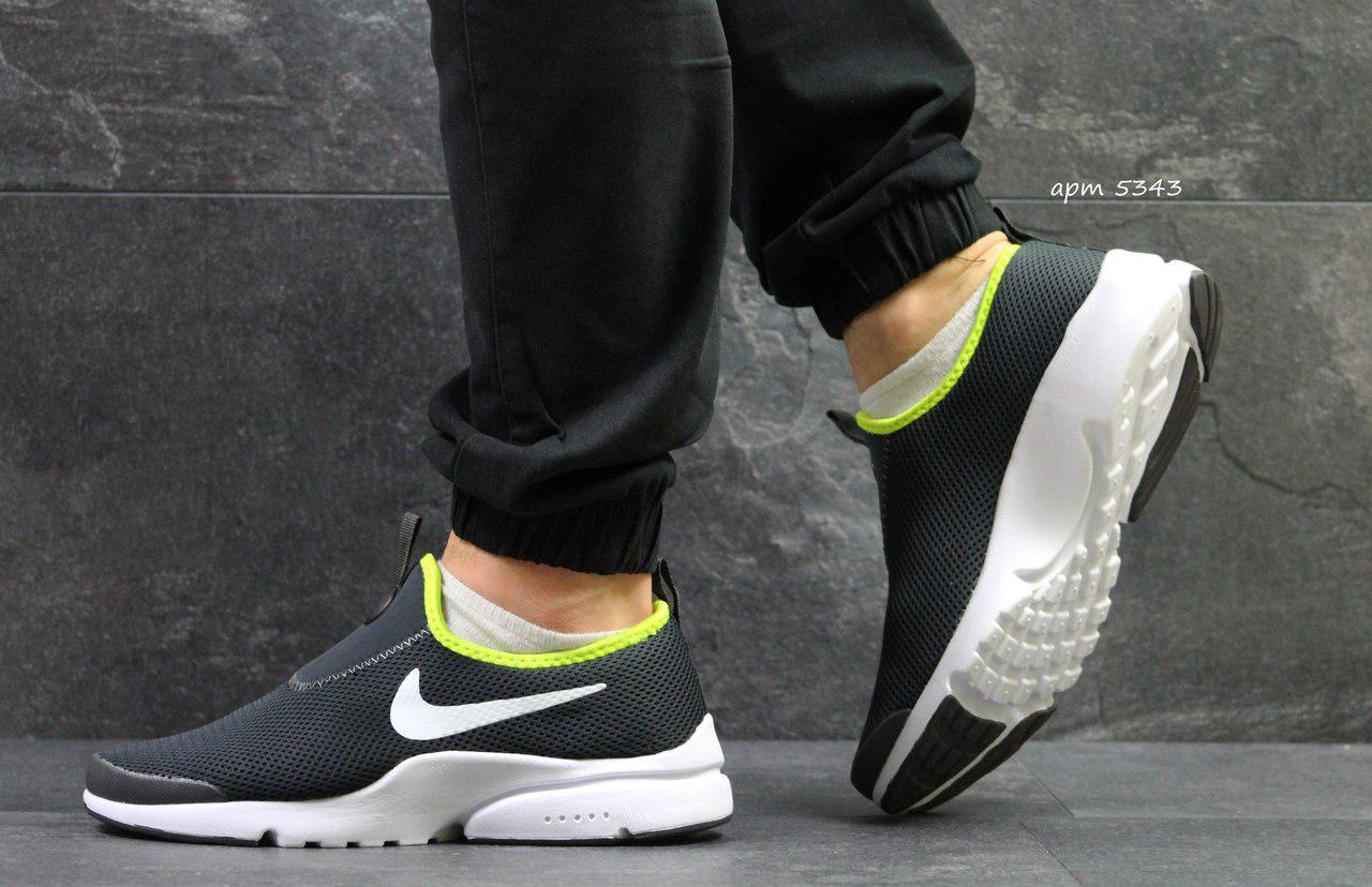 Летние мужские кроссовки Nike,серые 44р