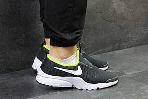 Летние мужские кроссовки Nike,серые 44р, фото 2
