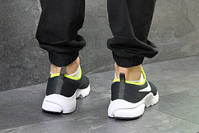 Летние мужские кроссовки Nike,серые 44р, фото 3